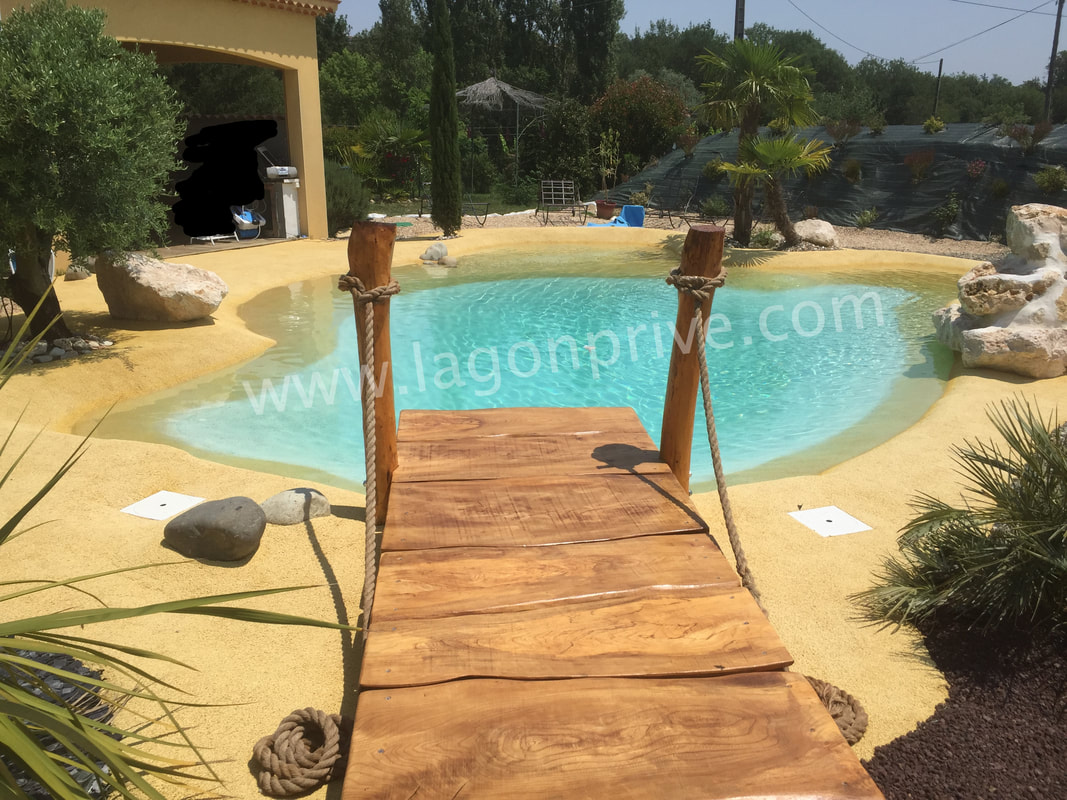 Lagon piscine for Piscine lagon caoutchouc